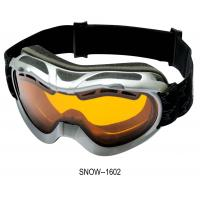 Buy cheap Dual Lens Custom Ski Goggles,designer ski goggle with Airflow Lens from wholesalers