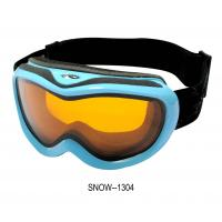 Buy cheap Children's Snow Ski Goggles , custom logo ski boarding goggles with 3 Layer Sponge from wholesalers