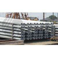 Buy cheap Hollow pole Concrete Pole Steel Mould Concrete Pole Equipment dense and high product