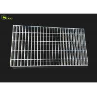 Buy cheap Steel Cover Mesh Galvanized Bar Grating Floor Metal Grid Plain Tread Step Stair product