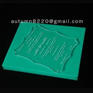Buy cheap ICB (4) unnormal wedding invitation plastic product