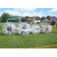 Buy cheap Custom Transparent TPU Body Zorb Ball Bubble Inflatable For Football Game from wholesalers