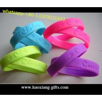 Buy cheap High Quality custom logo 150*12*2mm  Nfc luminous silicone wristbands/bracelet from wholesalers