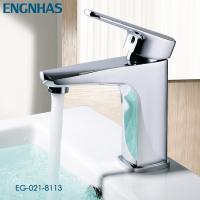 Buy cheap Single hole chrome brass basin antique mixer tap from wholesalers