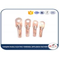 Buy cheap Cable Crimp Type Terminal Lugs Copper Tube Wire Terminals DT Series from wholesalers