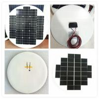 Buy cheap High Efficiency Round Solar Panels , Rollable Solar Panel Bear Wind Pressure from wholesalers