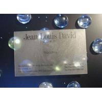 China UV Spot Light Smart Transparent PVC Business Card With Signature Panel For Club on sale
