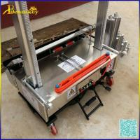 Buy cheap Automatic Wall Rendering Mortar Plastering Machine price,factory directly concrete plastering machine from wholesalers