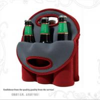 Fashion 6 Pack Neoprene Wine Tote Cooler