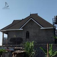 Buy cheap Residential House Roofing Materials steel roof sheet price corrugated galvanized zinc steel roof price philippines from wholesalers
