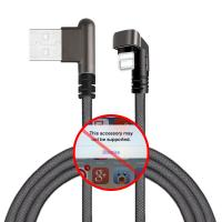 Buy cheap High Speed Iphone 5s USB Data Cable For Fast Charging Nylon Braided 2.1A from wholesalers