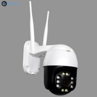Buy cheap 2.5 inch outdoor 5MP IR WIFI PTZ two way audio AI motion detection 5X zoom wireless speed dome surveillance IP camera from wholesalers