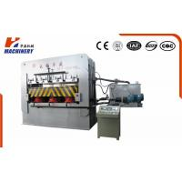 Precision Furniture Lamination Machine Single Venner Overhead Hot Press Machine