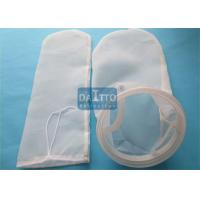 Buy cheap PA66 Nylon Filter Bag For Agriculture Industry , Industrial Water Filter Bags Long Working Life from wholesalers