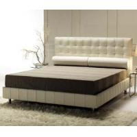 Buy cheap Real leather bed HIGH END FURNITURE LUXURY DESIGN from wholesalers