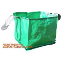 Buy cheap Yard Leaf Collecting Garden Bag Dustpan For Leaf,Water proof UV- and tear-resistant garden leaf bag,jumbo garden leaf co from wholesalers