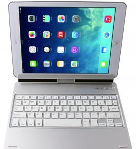 Buy cheap 200mAh iPad Air 2 Bluetooth Keyboard , ABS keys Aluminum Keyboard product