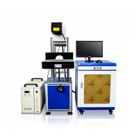 Buy cheap CO2 Laser Permanent Marking Machine Engraving In Jeans Leather Garment from wholesalers