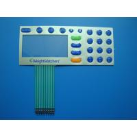 Buy cheap Digital Printed Embossed Keypad Membrane Switch 30V DC With Touch Panel from wholesalers