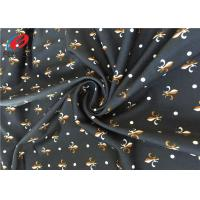 Buy cheap 4 Way Stretch Digtial Printed Polyester Spandex Fabric / Lycra Swimming Fabric For Clothing from wholesalers
