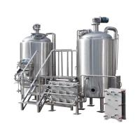 Buy cheap 200 - 500 L Customized 2 Vessel Brewhouse Beer Brewing Equipment from wholesalers