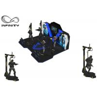 Buy cheap INFINITY Theme Park Virtual Reality Walking Platform Interactive Games With 360 ° Rotation from wholesalers