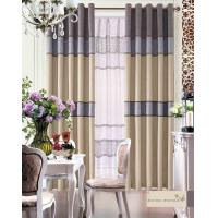 Buy cheap European Style Hotel / Home Textile Products Decorative Jacquard Fabric Modern Curtains product