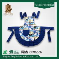 Buy cheap Customized Bib Cotton Kitchen Apron , Cute Kids Cooking Aprons from wholesalers
