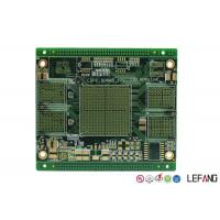 Buy cheap Quick Turn Multilayer Printed Circuit Board 10 Layers PCB Prototype 1 OZ Copper from wholesalers