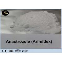 Buy cheap Oral White Arimidex Anti Estrogen Steroids Anastrozole CAS 120511-73-1 For Muscle Building from wholesalers