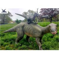 Buy cheap Dinosaur Replicas Life Size , Dinosaur Garden Sculpture For Forest Playground Decoration from wholesalers