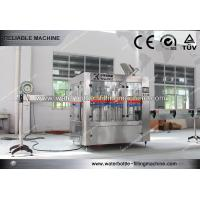 Buy cheap Rotary 3 in 1 Tea , Beer , Water Bottle Filling Machine For Industry Soft Drink Bottling from wholesalers