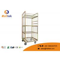 Buy cheap Heavy Duty Logistics Trolley Folding Steel 4 Layers Powder Coating Surface from wholesalers