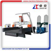 Buy cheap ZKM-1325B Wood Carving Machine with Vacuum system and dust collector 1300*2500mm product
