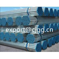 Buy cheap Low Pressure Hot Dipped Galvanized Pipe , Threaded Seamless Black Steel Pipe from wholesalers