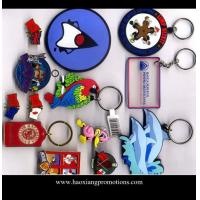 Buy cheap Wholesale OEM factory supply 2d custom shaped soft pvc keychain/keyring from wholesalers