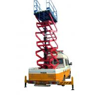Buy cheap 11 Meters Truck Mounted Scissor Lift For Work At Height Man Lift 500Kg from wholesalers