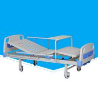 Buy cheap Movable Manual Hospital Bed Durable With Abs Turn Over Table Custom Size from wholesalers