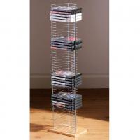 Buy cheap Free Standing Commercial Wire Shelving With Wooden Foot Base 8 * 6* 28 H from wholesalers