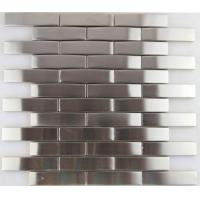 Buy cheap 3d Arch Stainless Steel Mosaic Tile Backsplash , Stainless Steel Kitchen Tiles 8mm Thick from wholesalers
