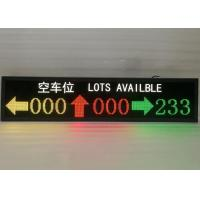 Buy cheap Ultra Bright Inside LED Car Parking Screen Showing Direction / Parking Space product
