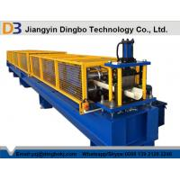 Buy cheap Fully Automatic Cold Roll Forming Machine , Portable Seamless Gutter Machine from wholesalers