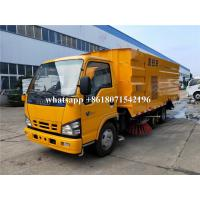 Buy cheap High Pressure Truck Mounted Road Sweeping Machine Vacuum Street Cleaning Truck from wholesalers