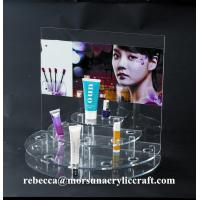 Buy cheap Clear Acrylic skin care cosmetic products Display can replace advertising paper from wholesalers