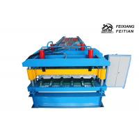 Buy cheap Hydraulic Metal Glazed Tile Roll Forming Machine With 2 - 5m/Min Speed from wholesalers