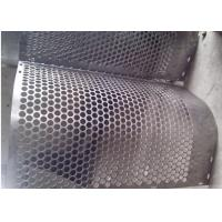 Buy cheap Round Hole Shape Perforated Metal Sheet Zinc Coating 40 G HDG  Punching from wholesalers
