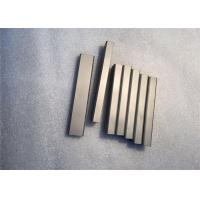 Buy cheap Hip Sintered Tungsten Carbide Flat Bar 150mm Length For Stone Crusher Rotor Tip from wholesalers