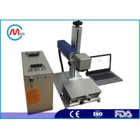 Buy cheap Portable mini 20w CO2 laser marking system machine for plastic bottle from wholesalers