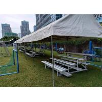 Buy cheap School Portable Aluminum Benches , Aluminum Sports Bleachers For Football Court from wholesalers