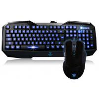 Buy cheap Backlight Gaming Membrane Aula Wired Keyboard Mouse Combo With MultimediaKey from wholesalers